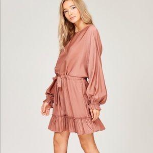 Dresses & Skirts - Lustrous Silky Dolman Sleeve Dress